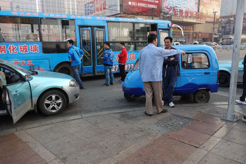 Blue 3 wheeler