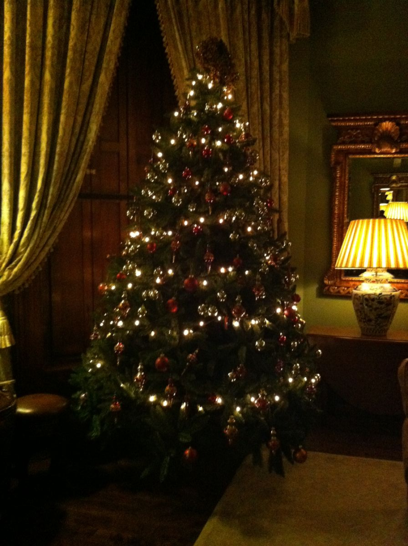 Christmas tree Castle Leslie