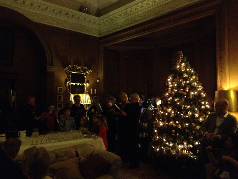 The choir at castle leslie