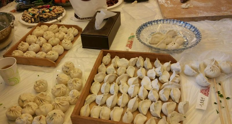 Dumplings galore